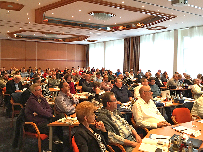 Well-attended workshops on interesting and current topics ...