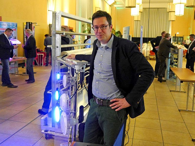 Moderne und leistungsstarke LED-Beleuchtung, Fa. Propulsion Systems