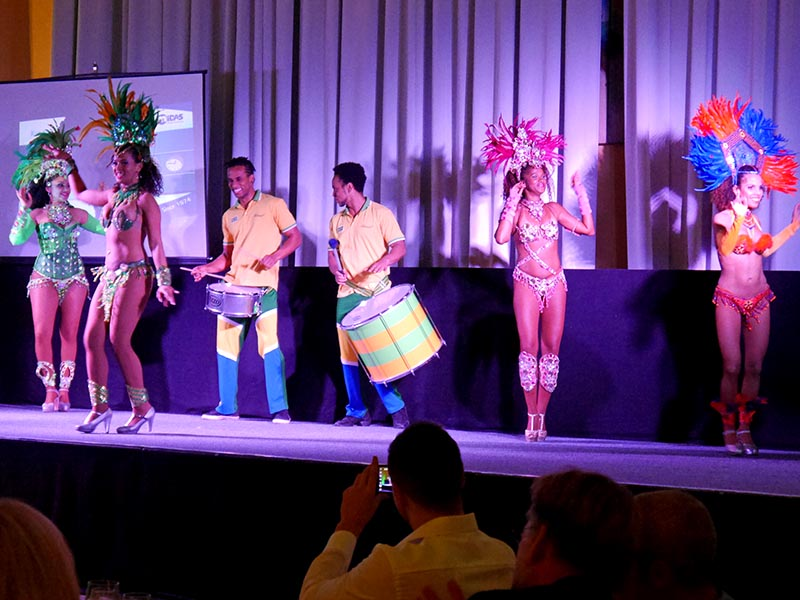 Brasilianische Lebensfreude sorgt für gute Stimmung